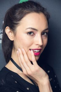 Das Make-up zur Show von Anja Gockel