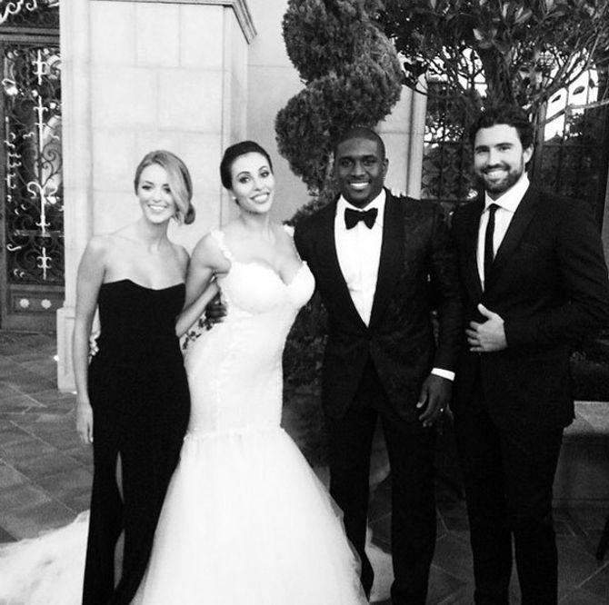 Reggie Bush et sa femme en compagnie de Brody Jenner et sa copine