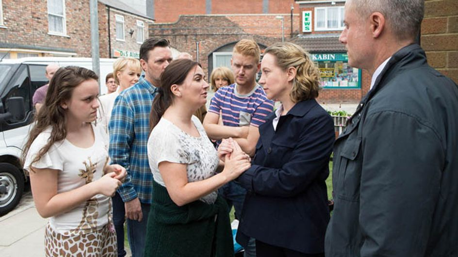 Coronation Street 23/07 – Neil confronts Steve to Andrea's horror