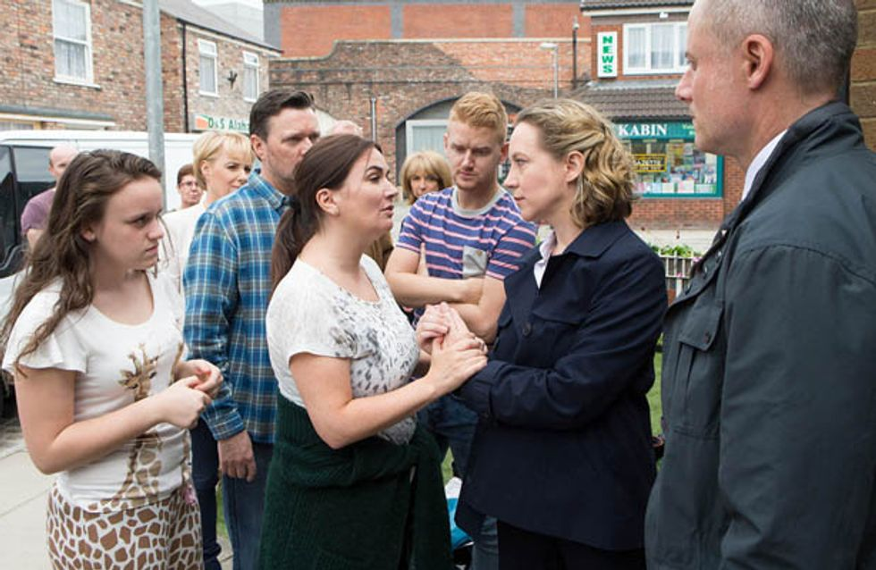 Coronation Street 23/07 – Neil confronts Steve to Andrea's horror