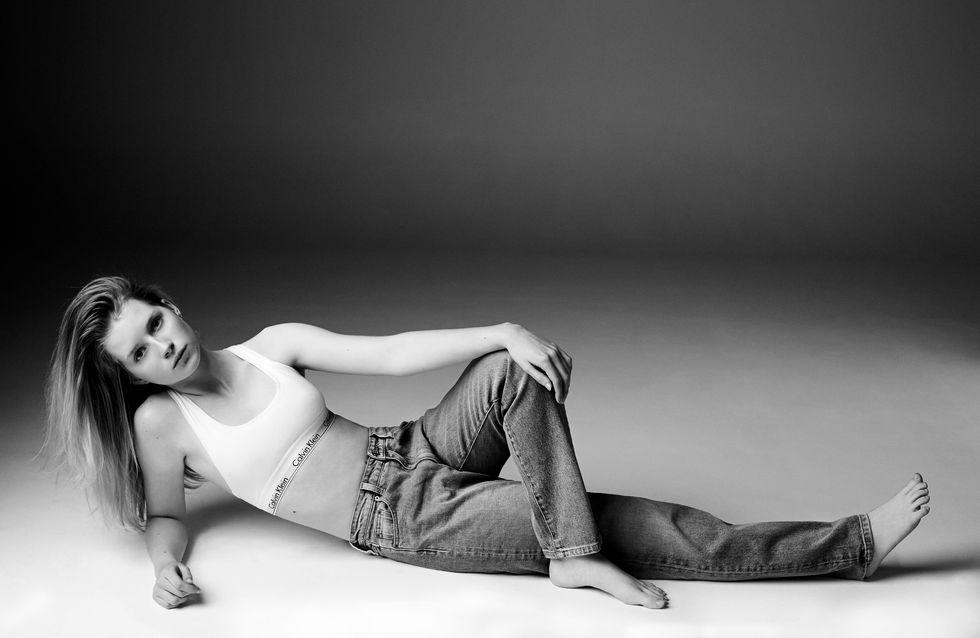 Lottie Moss, la hermana de Kate Moss triunfa junto a Calvin Klein Jeans