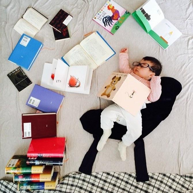 Koto, interesada por la lectura