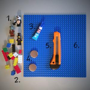 Matériel - Tuto Magnet LEGO