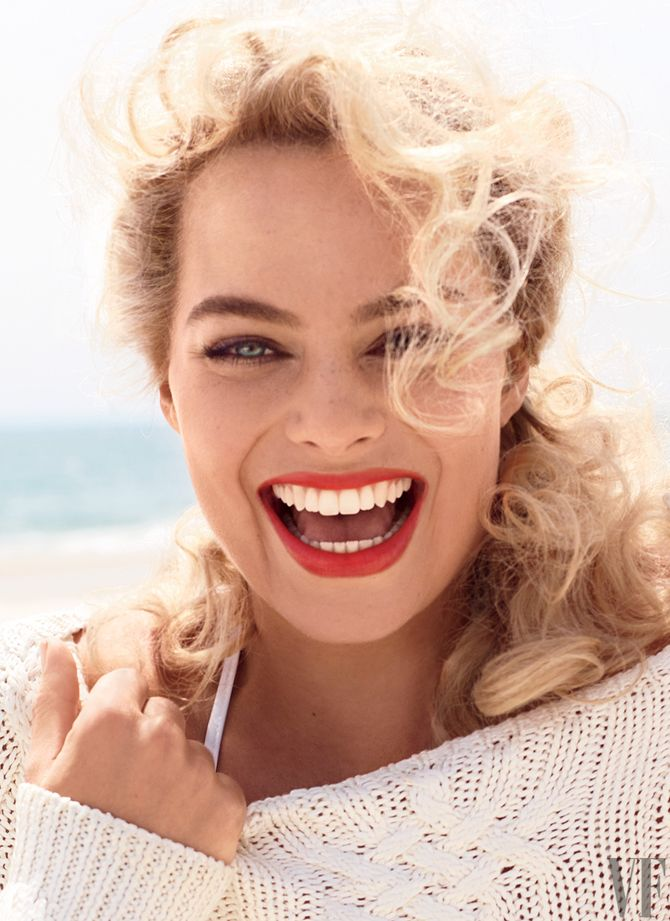 Margot Robbie pour Vanity Fair