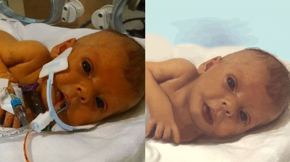 A Father Asked Reddit To Photoshop A Picture Of His Baby Daughter After She Died. This Was The Response.