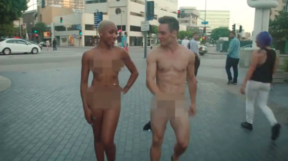 Watch These People Dancing Naked In Public. It's Oddly Hypnotising