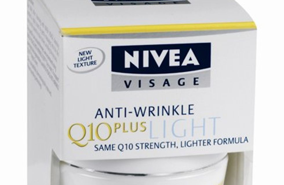 Editor's pick: Nivea SPF face cream