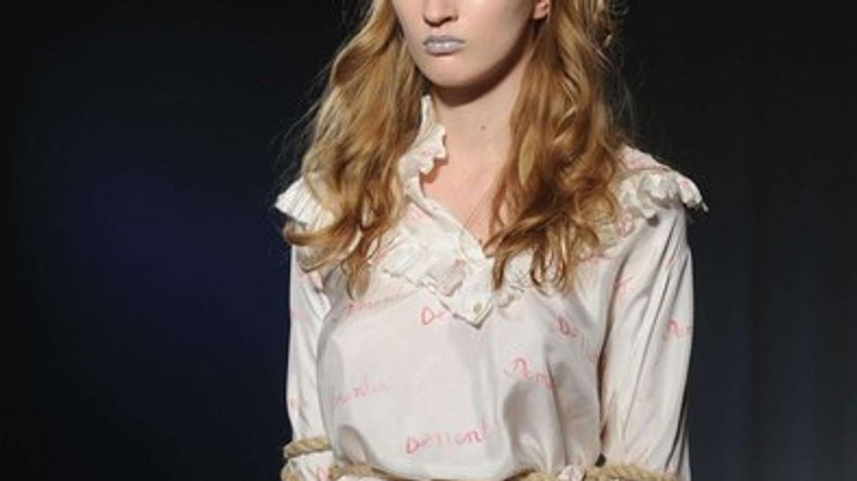 London Fashion Week: Charles Anastase catwalk report