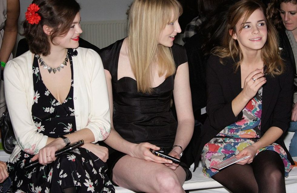 Emma Watson spotted at William Tempest show