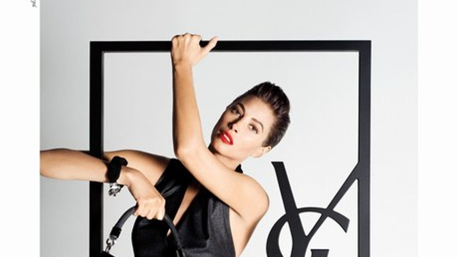 Christy Turlington is the new face of YSL