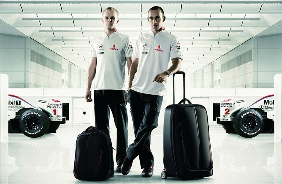 Samsonite partners with McLaren to launch luggage range