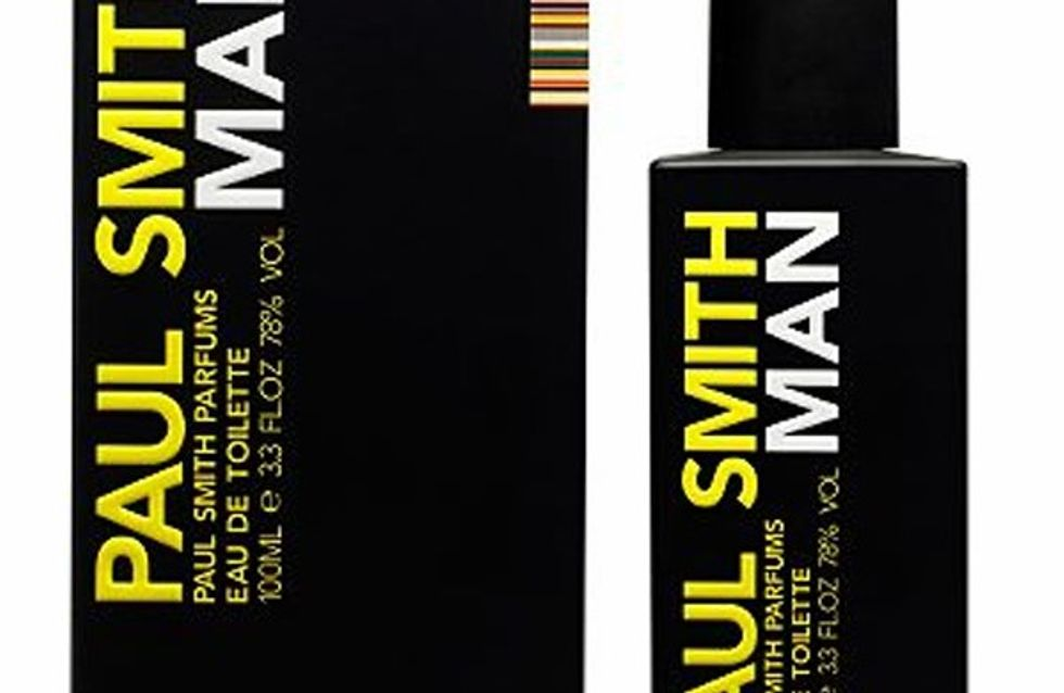 Paul Smith's new MAN fragrance