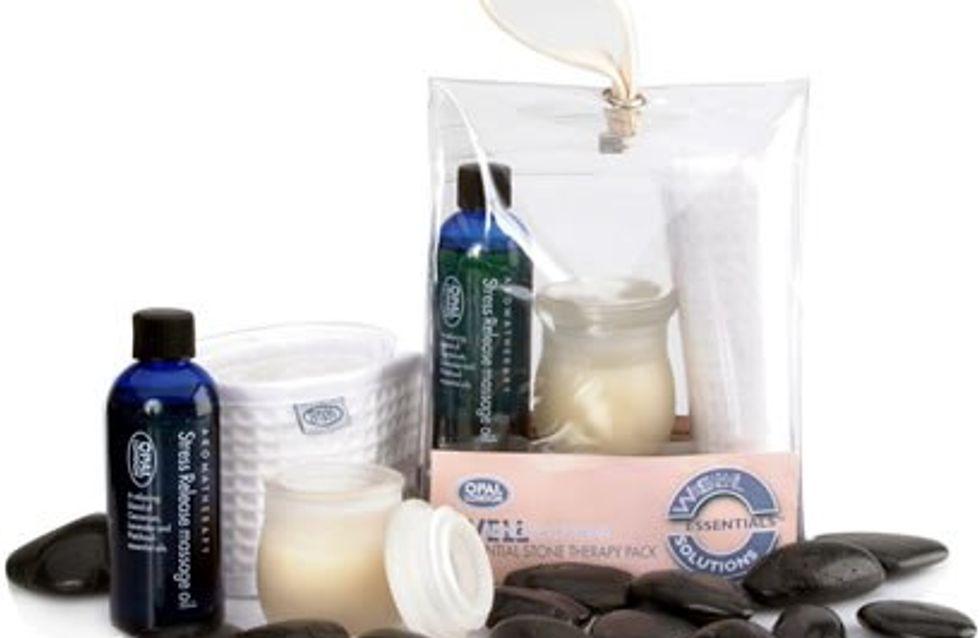 Hot stone massage pack