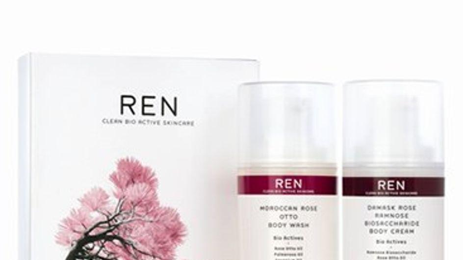Rose-fragranced gift set by Ren
