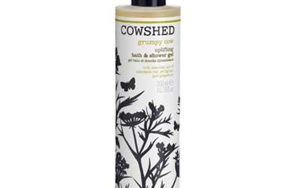 Bath & shower gel for grumpy cows
