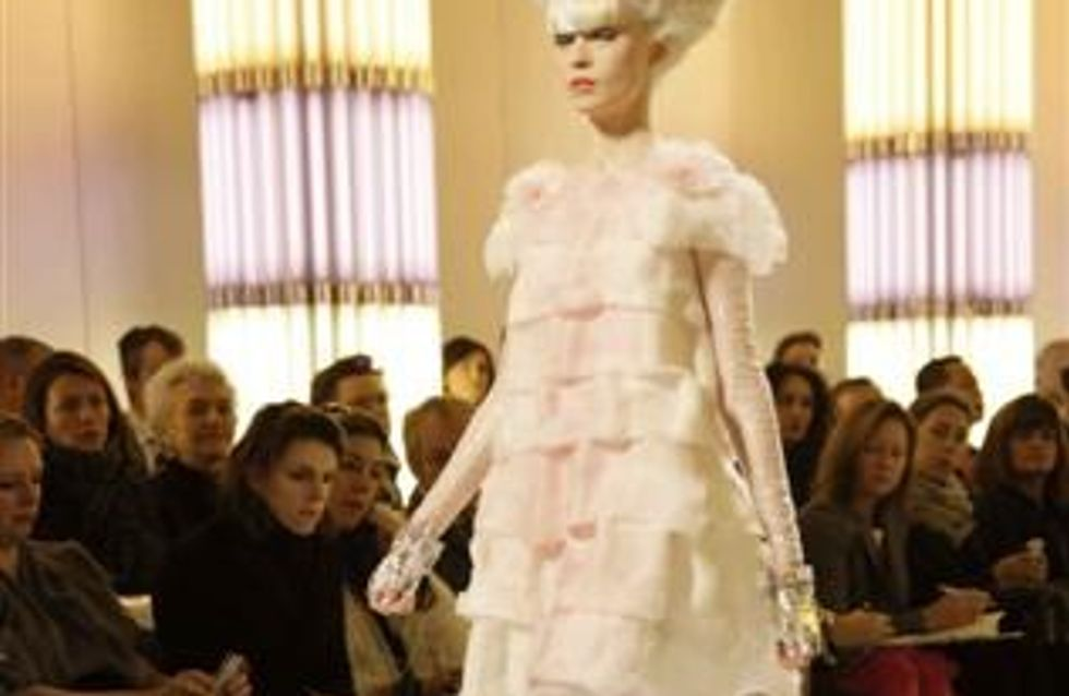 Paris Haute Couture S/S 2010: Chanel catwalk report