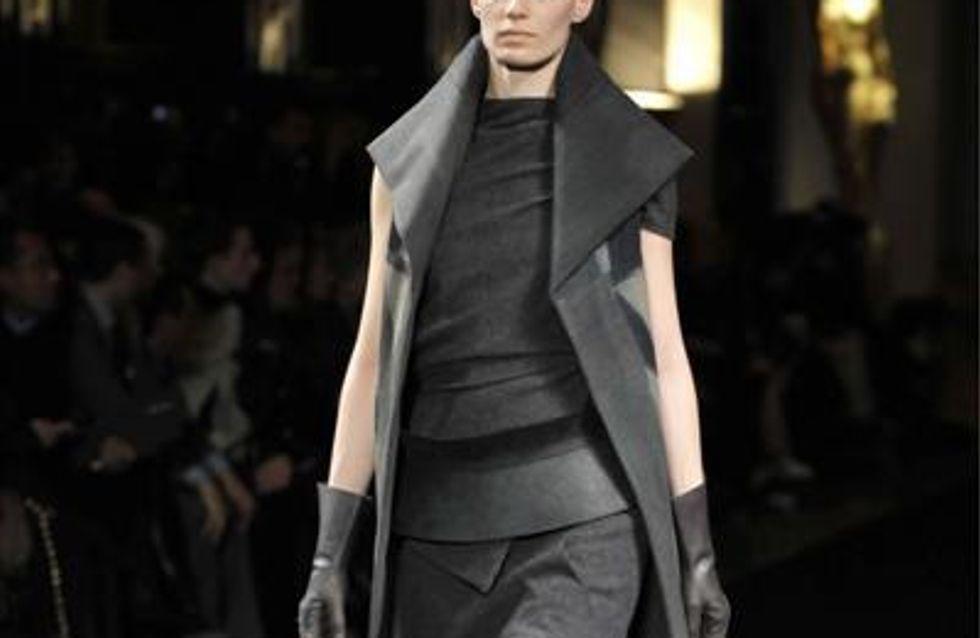 Paris Fashion Week A/W 10: Rick Owens catwalk report