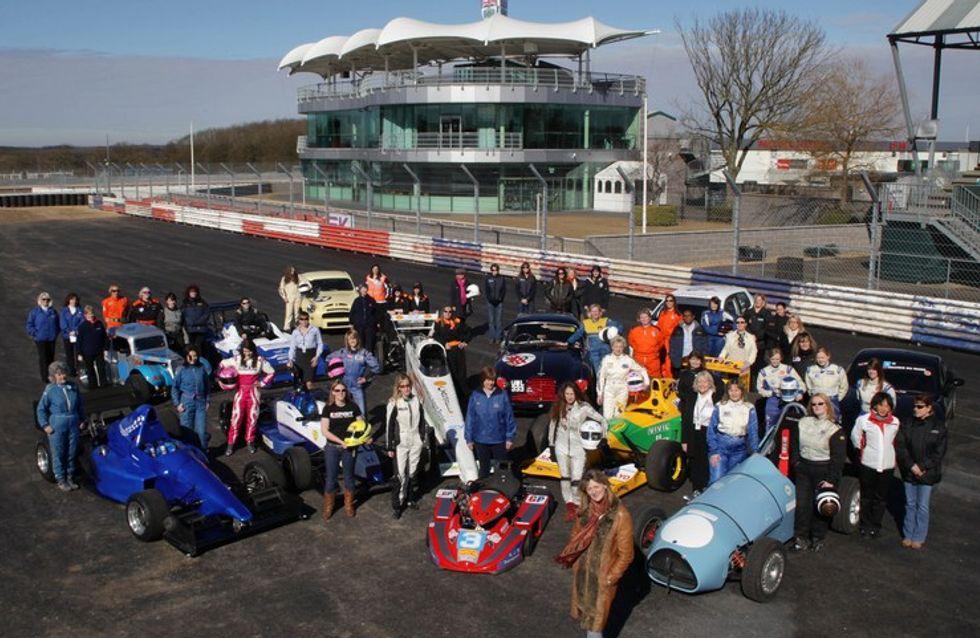 International Women's Day: top female motorsport personalities celebrate at Silverstone