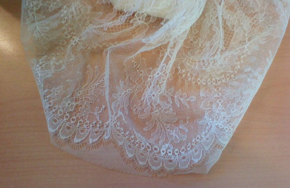 Wedding fabric and bridal lace