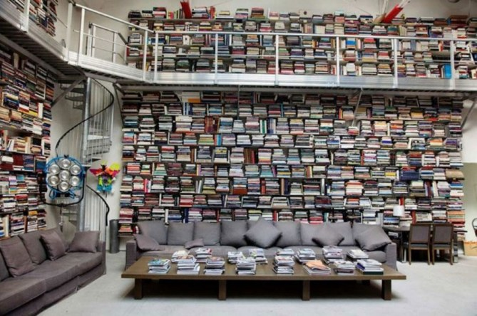 La biblioteca de Karl Lagerfeld