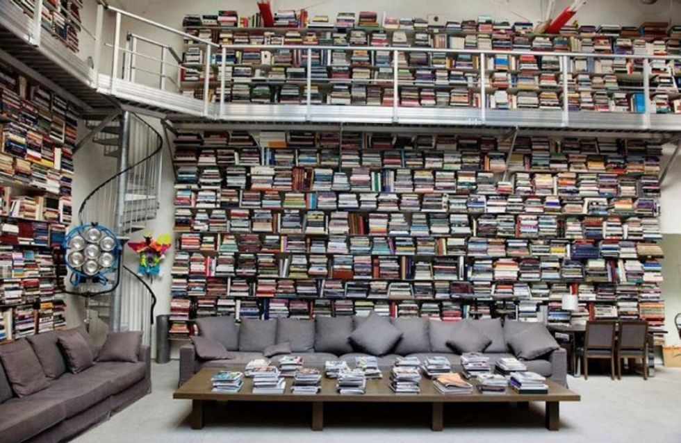 Bibliotecas de ensueño para las amantes de la lectura