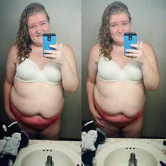 Cette jeune fille a-t-elle été censurée sur Instagram à cause de son surpoids ?