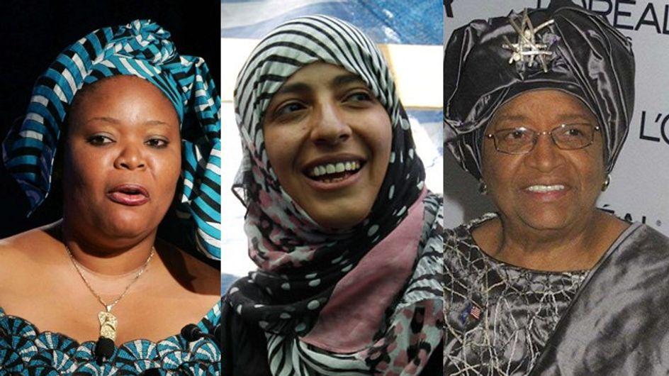 Three women win Nobel Peace Prize 2011