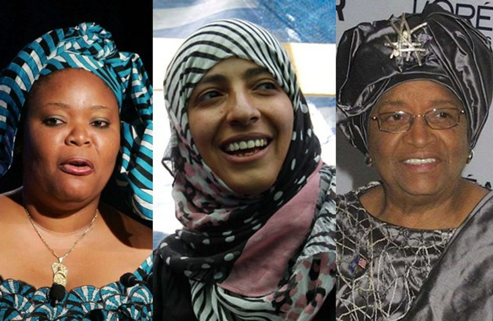 Three women win Nobel Peace Prize 2011