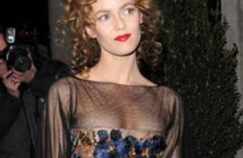 Vanessa Paradis not worried about age