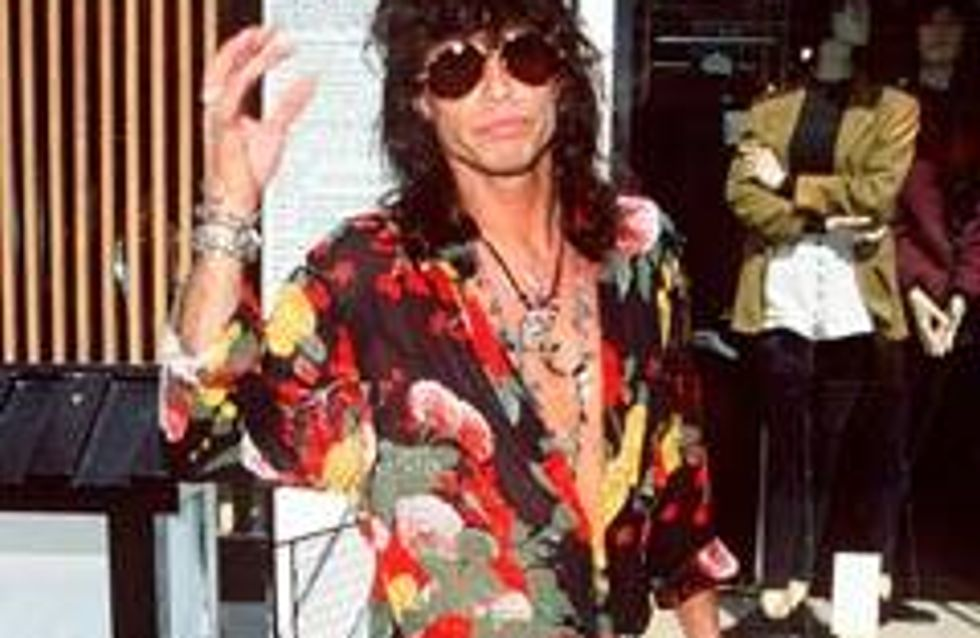 Steven Tyler has huge penis