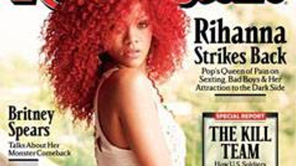 Rihanna admits she's 'masochistic'