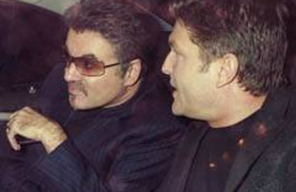 Kenny Goss walks out on George Michael?