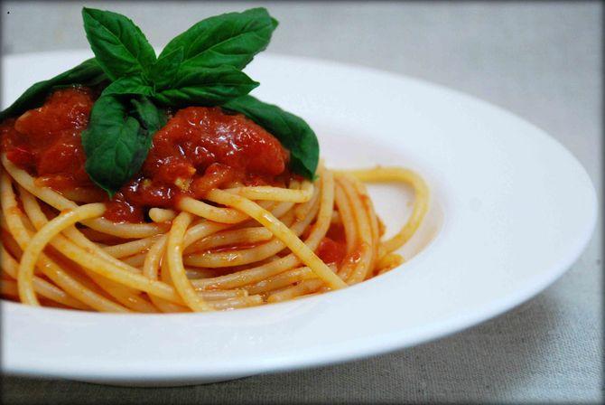 Spaghetti al pomodoro