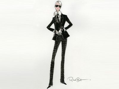 La nouvelle Barbie® Karl Lagerfeld