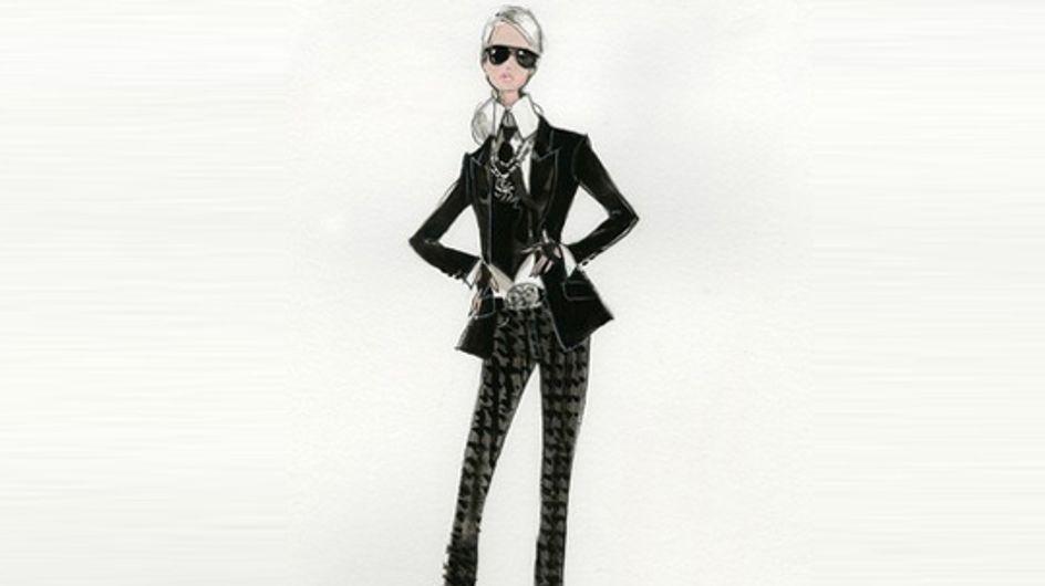 Barbie® : Une nouvelle poupée à l'effigie de Karl Lagerfeld (Photo)