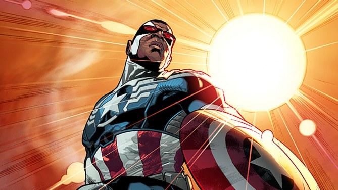 Le nouveau Captain America Afro-américain