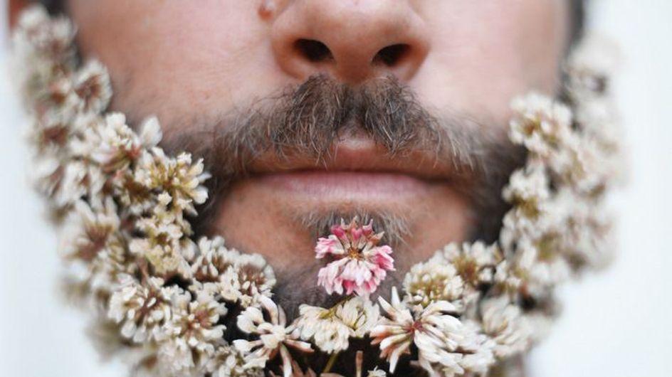 Barbas con flores, la última excentricidad