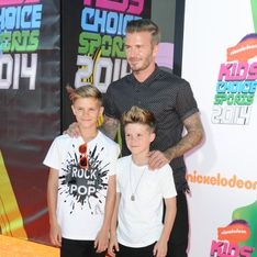 David Beckham : Belle complicité père/fils aux Kids' Choice Sports Awards