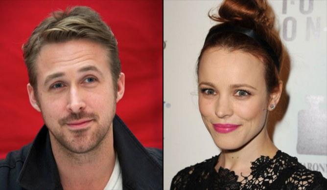 Rachel McAdams et Ryan Gosling