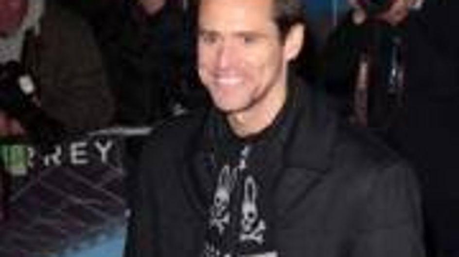 Jim Carrey's naked days
