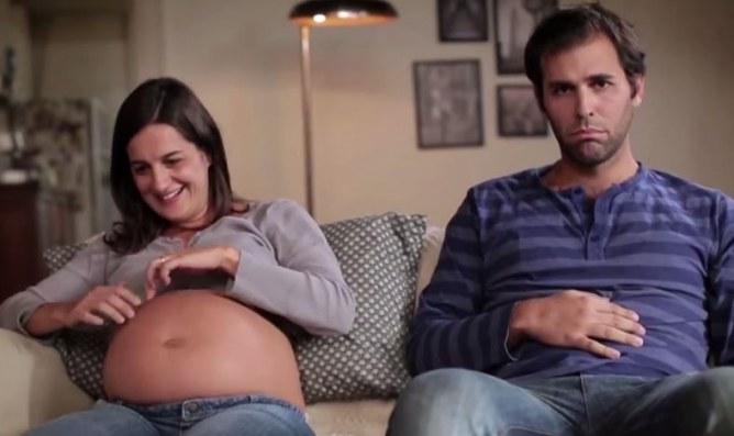 Une invention permet aux papas de ressentir leur bébé