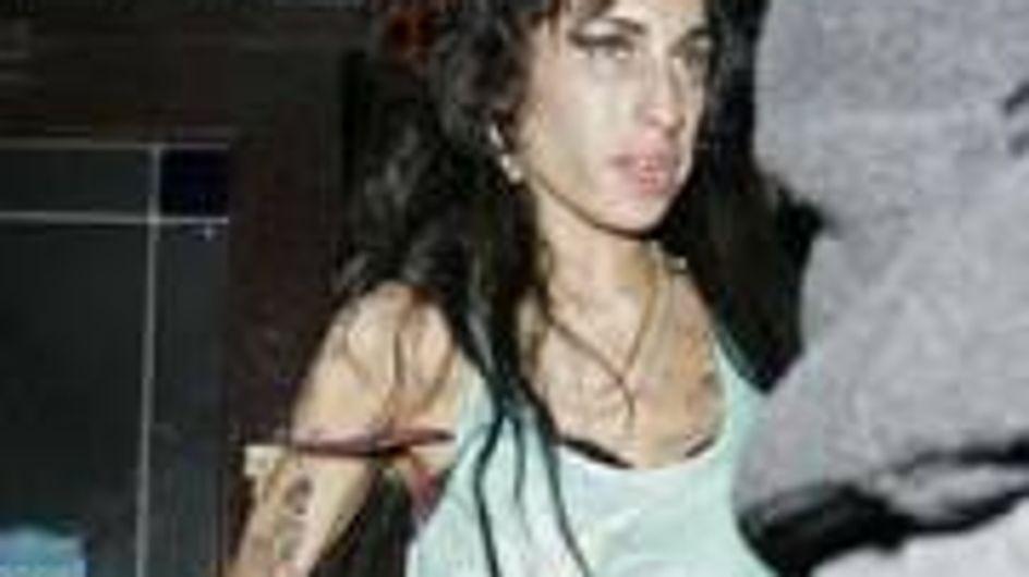 Amy Winehouse's vomit frocks