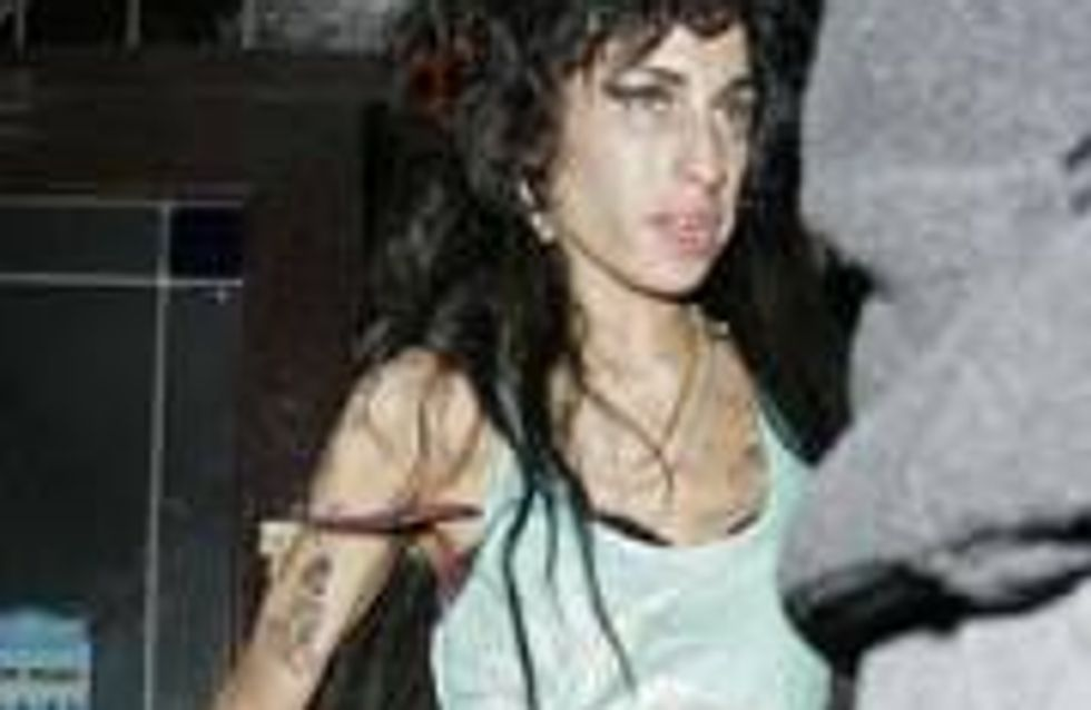 Amy Winehouse's vomit frocks