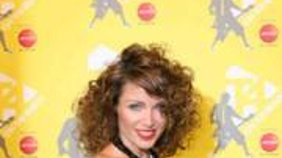 Dannii Minogue's Playboy pose