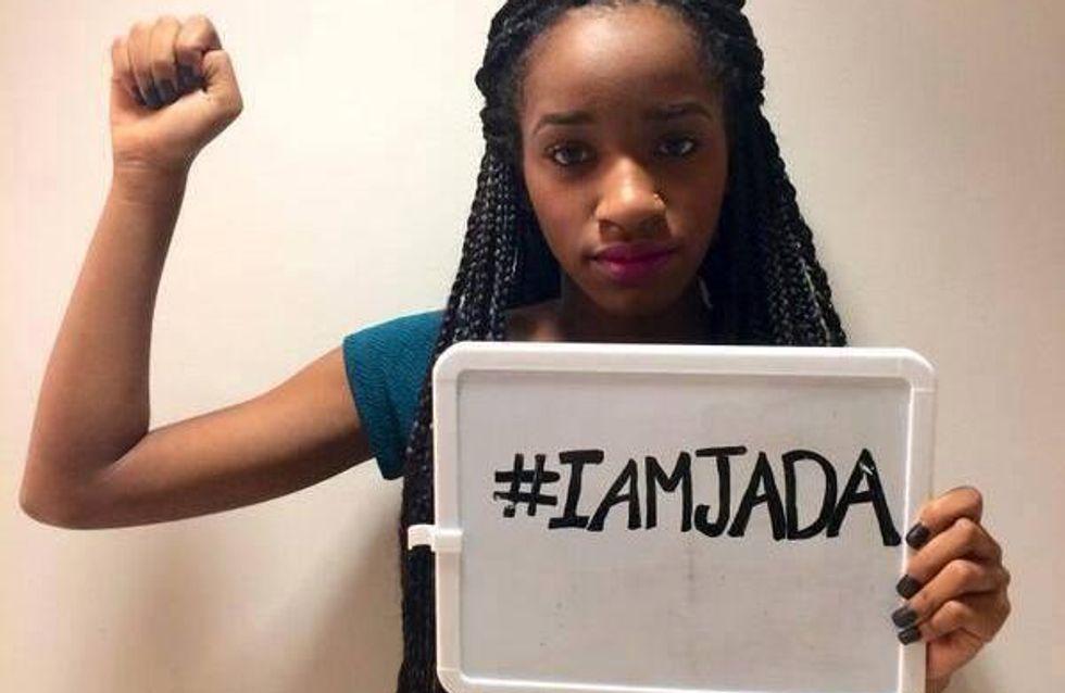 Humiliée après avoir raconté son viol, Jada contre-attaque sur Twitter (Photo)