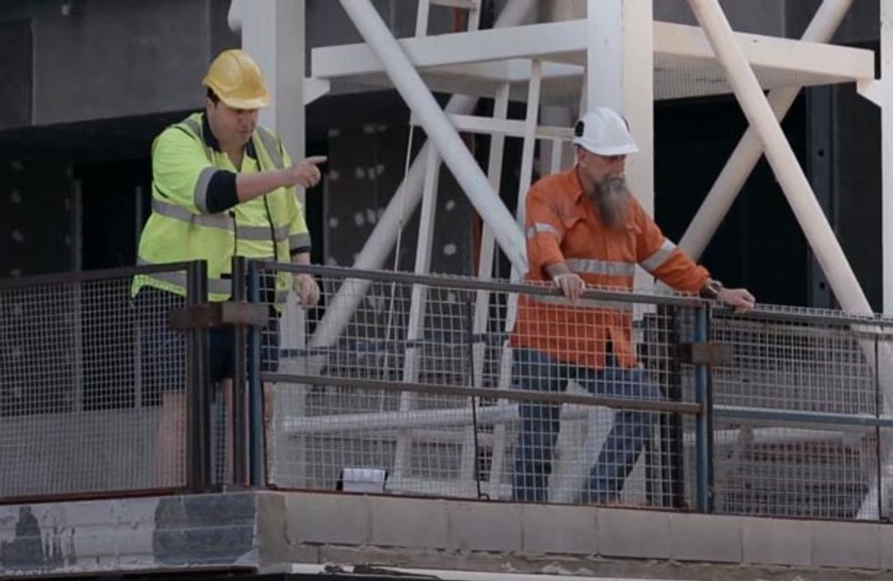 Builders Call Out To Women On Their Way To Work. Trust Us, It's Not What You Think