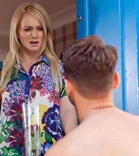 Hollyoaks 01/08 – Lindsey struggles to hide her emotions