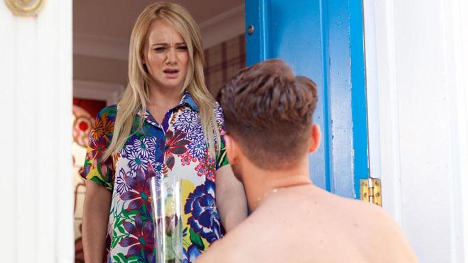 Hollyoaks 01/08 – Lindsey struggles to hide her emotions