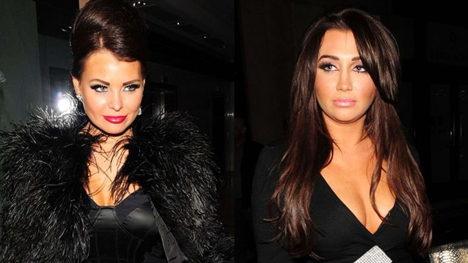 Who wore the most revealing dresses at TOWIE wrap party