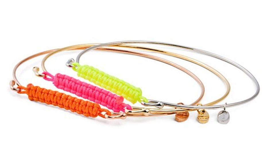 JADA Jewellery: Neon bangles